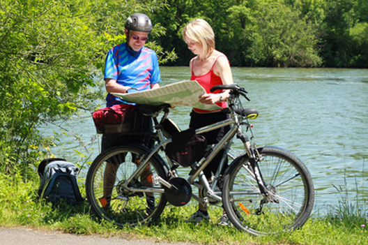 Radtour an der mecklenburgischen Seenplatte
